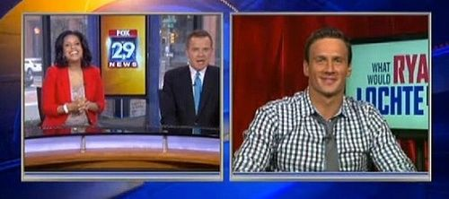Ryan Lochte interview Good Day Philly