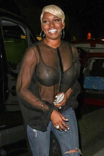 NeNe Leakes' See-Through Blouse Is a Sheer Disaster (PHOTO)