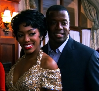 Porsha and Kordell Stewart