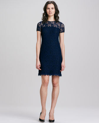 DVF dress lace