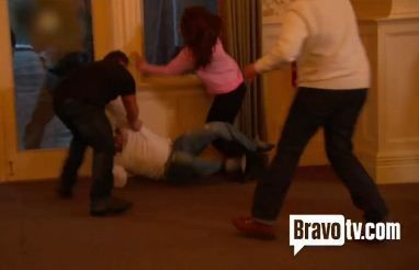 real housewives of nj fight