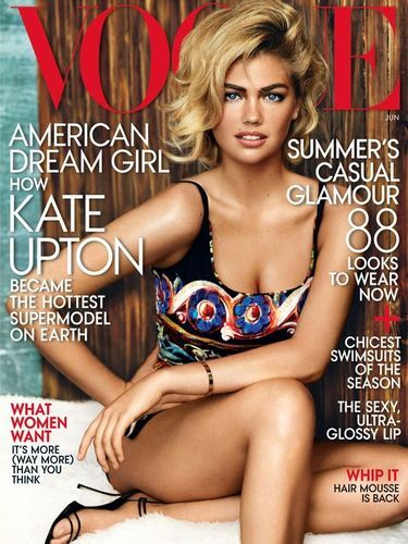 Th Gorgeous Kate Upton Cover Vogue