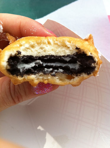 deep-fried Oreo