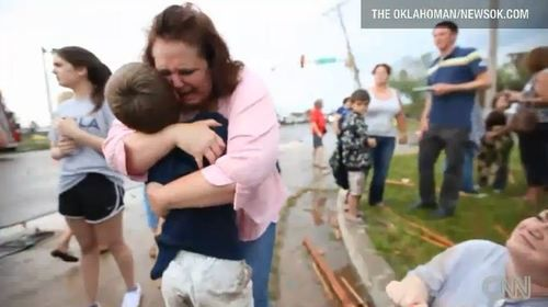 oklahoma tornado tearful reunion
