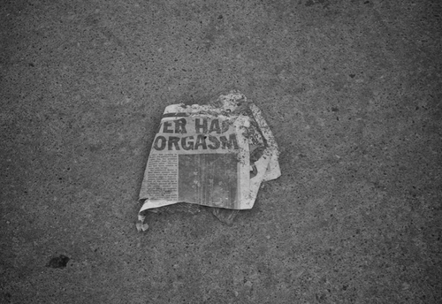 orgasm newspaper