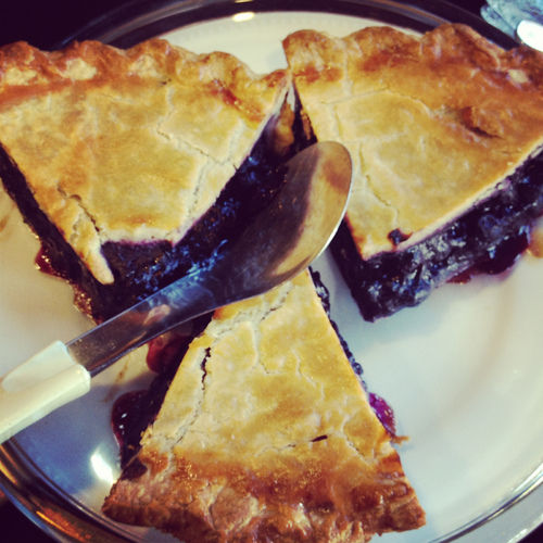 blueeberry pie