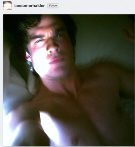 ian somerhalder throwback thursday topless