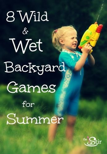 water games for summer with kids