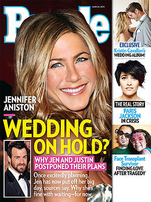 jennifer aniston justin theroux wedding plans people cover