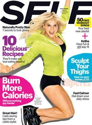 kesha self magazine