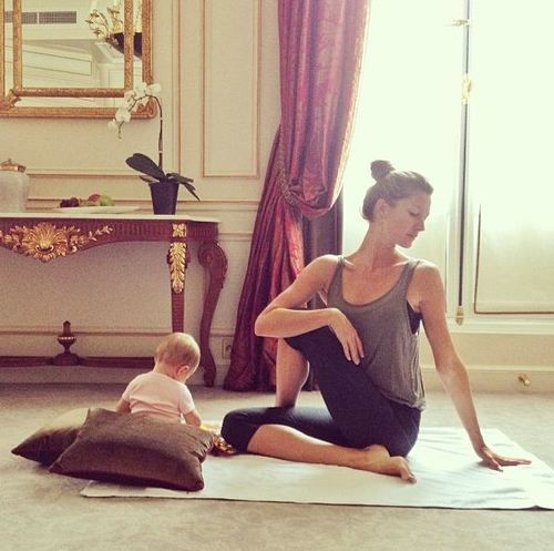gisele bundchen and baby vivian