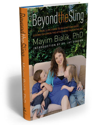 Mayim Bialik attachment parenting book