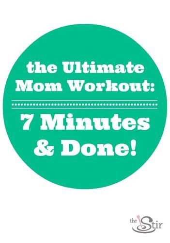 7 minute workout moms seven