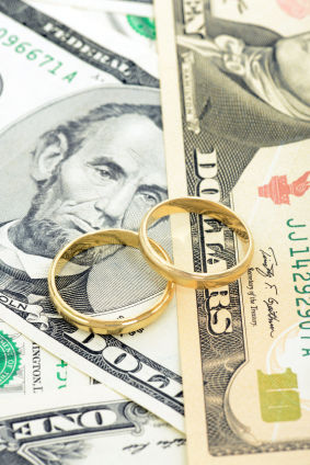 cash wedding rings