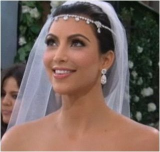 kim kardashian wedding photo