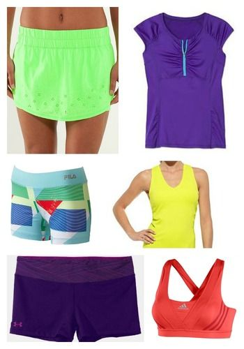 summer workout clothes