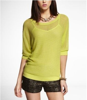 Mesh sweater Express