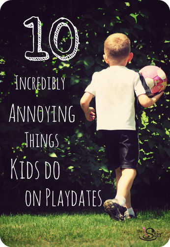 10 annoying things kids do on playdates