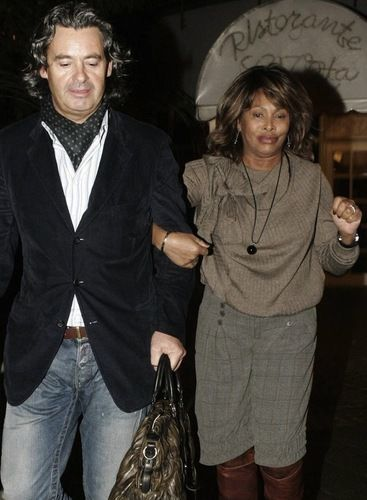Tina Turner couple