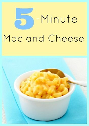 Minute Homemade Mac and Cheese adapted from Picky Palate