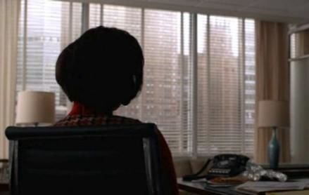 mad men looking out don's window season 6 finale