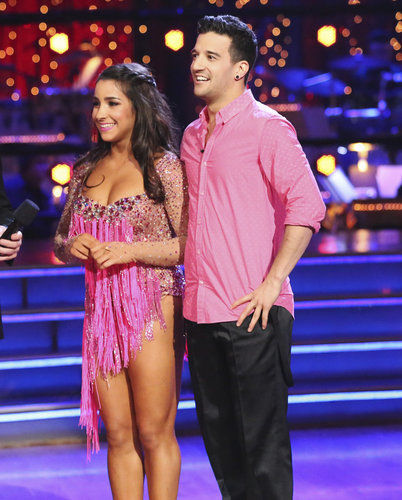 Aly Raisman Mark Ballas