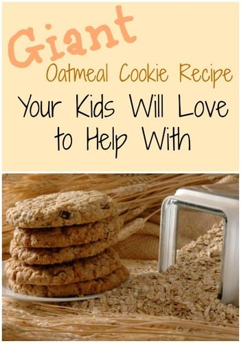 giant oatmeal cookie recipe