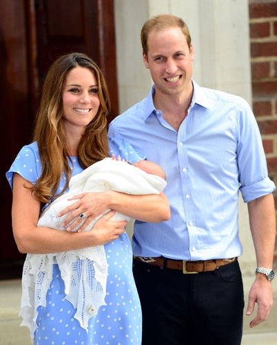 Kate Middleton Prince William Prince George