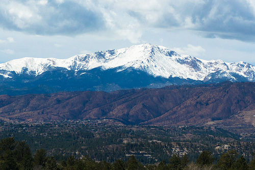 colorado mudslides, pikes peak mountain
