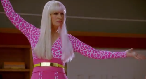 sue sylvester as nicki minaj