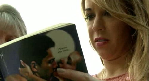 library blamed erotic book