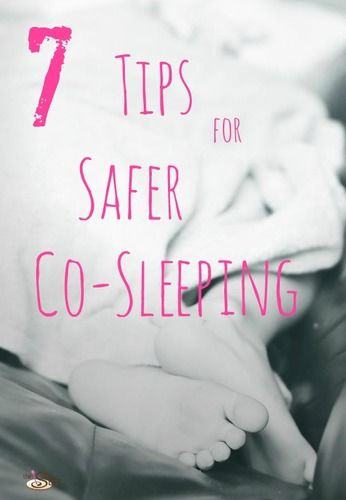 7 tips for safer co-sleeping