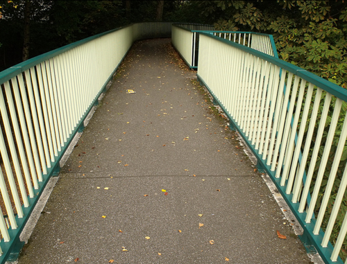 footbridge murder