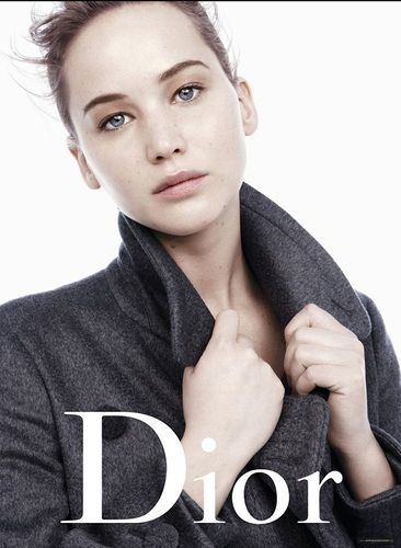 jennifer lawrence miss dior autumn/fall lookbook