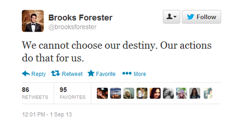 brooks forester, twitter