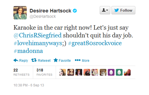 desiree harstock twitter