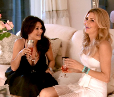 Lisa Vanderpump and Brandi Glanville