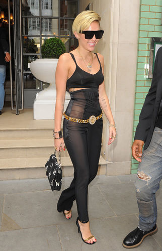 miley cyrus see-through pants