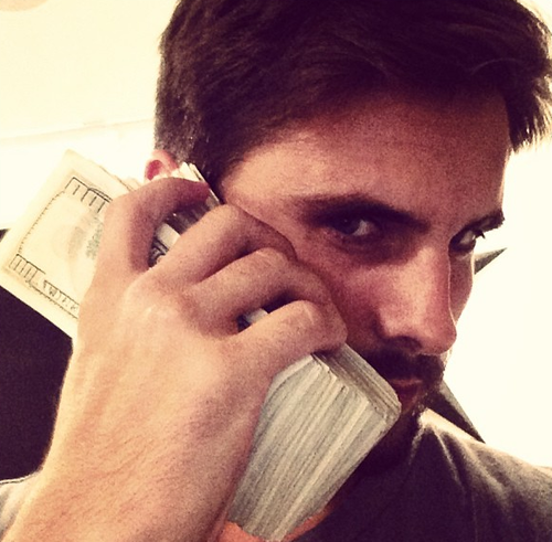 Scott Disick money