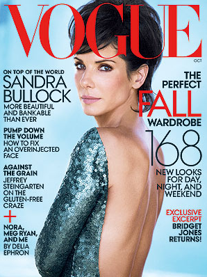 sandra bullock short hair