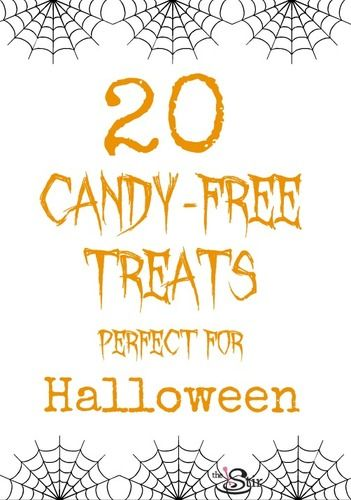 20 candy-free treats for halloween