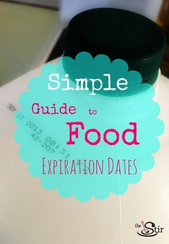 guide to food expiration dates