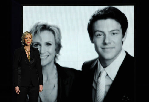 Emmy Awards Cory Monteith tribute