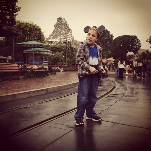 Alex Bettencourt at Disney