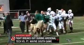 football fight