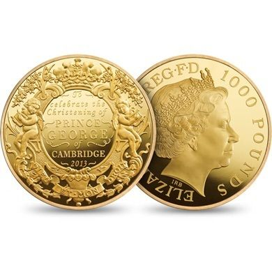 Prince George gold coins