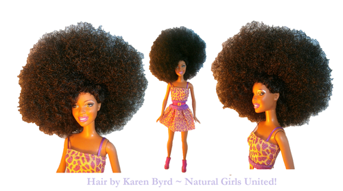 big afro doll karen byrd
