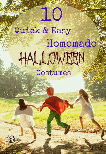 10 Quick and Easy Homemade Halloween Costumes