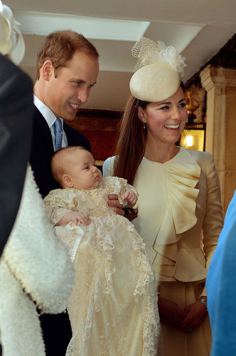 Kate Middleton Prince George christening