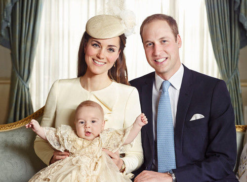 Official royal christening portrait